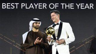 Global Soccer Awards Confirm Robert Lewandowski Won Player of The Year Award, Not Cristiano Ronaldo