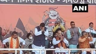 Former TMC leader Suvendu Adhikari Joins BJP at Amit Shah's Midnapore Rally in West Bengal