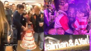 Salman Khan Birthday Party: पनवेल में मना सलमान का 55वां जन्मदिन, पार्टी की तस्वीरें और वीडियो वायरल