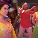 Sara Ali Khan Does Naagin Dance, Sizzles in Yellow Lehenga in 'Teri Bhabhi' Song From Coolie No. 1