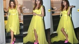 Shehnaaz Gill Looks Straight Out of Fairytale in This Yellow Tulle Dress on Bigg Boss 14