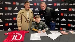 Wayne Rooney's 11-Year-Old Son Kai Signs With Manchester United Youth Academy