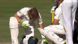 India A vs Australia A: Test Hopeful Will Pucovski Walks Off The Field After Brutal Blow to Helmet | Watch Video