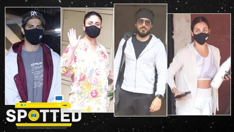 SPOTTED! Kareena Kapoor Khan Flaunts Her Baby Bump, Malaika Arora is Back To Her Workout Routine