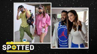 SPOTTED! Sidharth Malhorta-Kiara Advani, Gauhar Khan-Zair Darbar Snapped in Mumbai