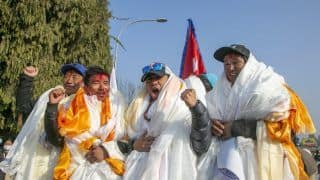 Nepali Climbers Reach Kathmandu After Scaling K2 For 1st Time, Receive a Hero's Welcome