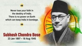 Subhash Chandra Bose Jayanti 2021: 6 Lesser-Known Facts About This Nationalist Leader And Founder of Azad Hind Fauj