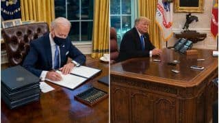 President Biden Gets Rid of Trump's Diet Coke Button From White House Desk, Twitter is Thoroughly Amused