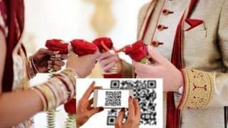 Madurai Couple Prints QR Code on Wedding Card For Guests to Transfer Gift Cash to Bank Account!
