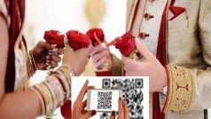 QR Code On Wedding Card: शादी के कार्ड पर छपवाया क्यूआर कोड, मेहमानों से कहा- करें मनी ट्रांसफर...