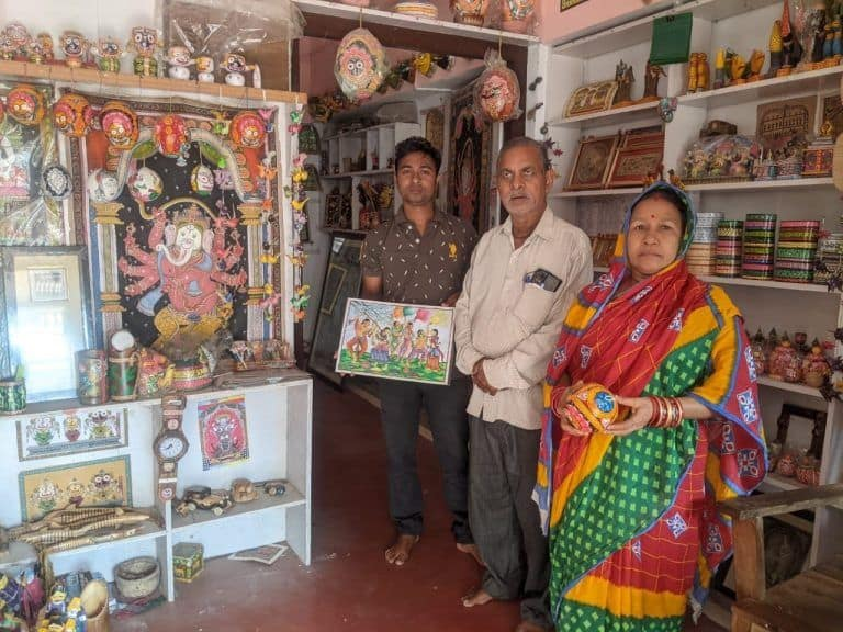 Odisha Village Residents Take its Famous 'Pattachitra' Art to New Heights