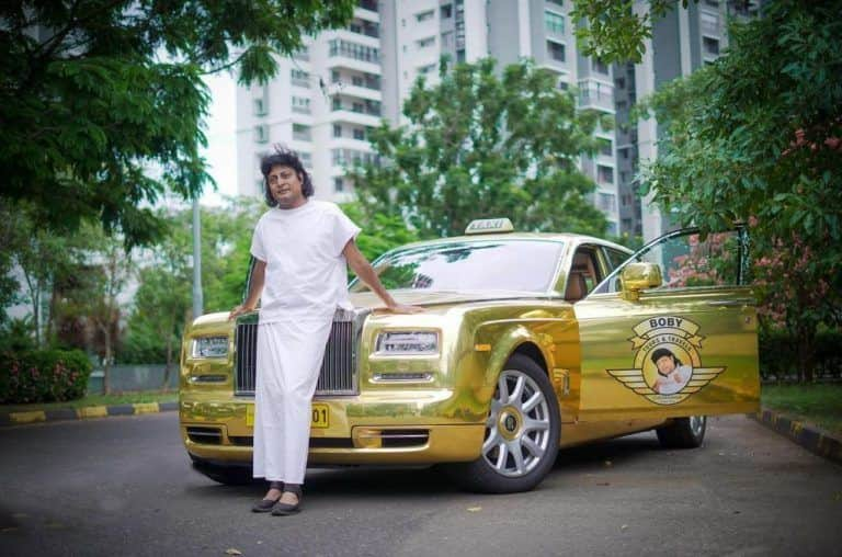 This Kerala Entrepreneur Converted His Rolls Royce Phantom into a Luxury Cab
