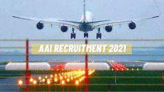 AAI Recruitment 2021: एयरपोर्ट अथॉरिटी ऑफ इंडिया में नौकरी करने का सुनहरा मौका, इन 368 विभिन्न पदों पर आवेदन करने के बचे हैं कुछ दिन, जल्द करें अप्लाई