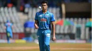 Arjun Tendulkar, Son of Sachin Tendulkar, Gets Maiden Wicket on Debut For Mumbai in Syed Mushtaq Ali T20 Trophy | WATCH VIDEO