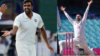 R Ashwin ले सकते हैं 800 टेस्ट विकेट, Lyon उतने काबिल नहीं: Muthaiya Muralitharan