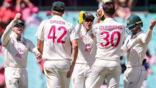 Pat Cummins के चार विकेट हॉल के सामने भारतीय बल्लेबाज पस्त, ऑस्ट्रेलिया को मिली 94 रन की बढ़त