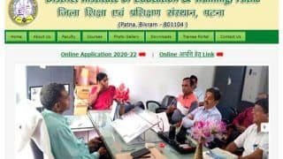 Bihar DElEd Merit List 2020 Released by DIET Patna at dietpatna.com, Check and Download Bihar DElEd 2020 Merit List NOW