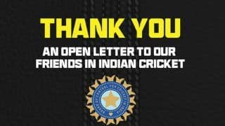 IND vs AUS: Cricket Australia Writes Open Letter to BCCI, Says 'Will Never Forget The Sacrifices' | Read Full Letter
