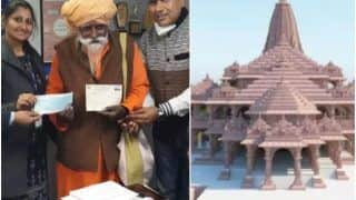 83-Year-Old Seer Who Lives in a Rishikesh Cave Donates Rs 1 Crore For Ram Temple Construction
