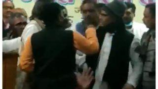 Video: No More Infighting, Congress Netas in Bihar Go For Open Fight
