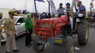 Farmers' Protest: Tractor Rally Near Delhi Borders Today, Traffic Diversions in Place | Check Advisory