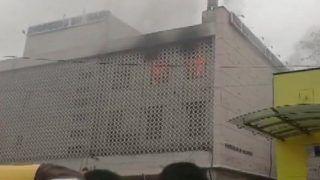 Delhi: Fire Breaks Out at a Building in ITO, no Casualties so Far