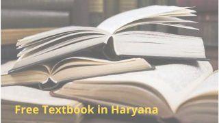 Free Textbook in Haryana: हरियाणा में इन छात्रों को मुफ्त मिलेगा टेक्टबुक, सरकार ने इसको लेकर उठाया ये कदम