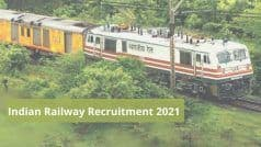 Indian Railway Recruitment 2021: 10वीं, 12वीं पास उम्मीदवारों के लिए रेलवे में इन पदों पर निकली वैकेंसी, आवेदन प्रक्रिया शुरू, जल्द करें अप्लाई