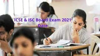 CISCE Announces Board Exams Date Sheet: Check Class 10th ICSE, 12th ISC Official Timetable Here