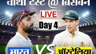 LIVE Cricket Score, IND vs AUS: बारिश के चलते जल्द खत्म हुआ मैच, भारत 4/0, जीत के लिए 324 रनों की दरकार