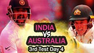 LIVE Ind vs Aus 3rd Test, Day 4 Live Score and Latest Updates, Today's Cricket Match Live Online Streaming Australia vs India Sydney Cricket Ground: India Eye Quick Wickets
