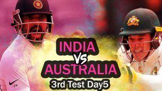 Live India vs Australia 3rd Test Day 5 Today's Match Live Score And Updates SCG: Chesteshwar Pujara, Ainkya Rahane Hold Key as IND Eye Draw