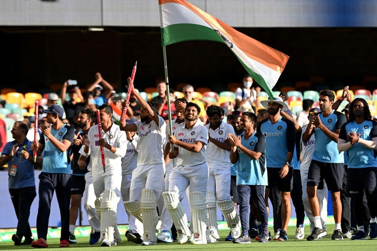 India victory over Australia At Gabba