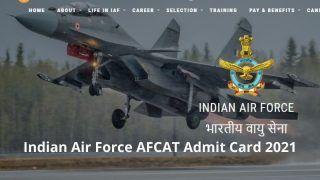 Indian Air Force AFCAT Admit Card 2021: IAF इस दिन जारी करेगा AFCAT 2021 का एडमिट कार्ड, जानें इससे संबंधित तमाम खास बातें