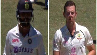 Ravindra Jadeja-Josh Hazlewood Staredown: Banter During 3rd Test Between IND-AUS at SCG Wins Internet