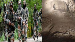 गणतंत्र दिवस से पहले जम्मू-कश्मीर में सुरक्षाबलों को मिली बढ़ी कामयाबी, 150 मीटर लंबी सुरंग का लगाया पता