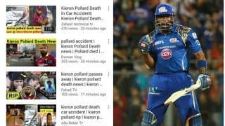 Kieron Pollard Dead? Fake Video on Youtube Goes Viral of Car Accident Making False Claims About West Indies Cricketer
