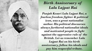Lala Lajpat Rai Birth Anniversary: 5 Lesser-Known Facts About The 'Lion of Punjab' You Should Know