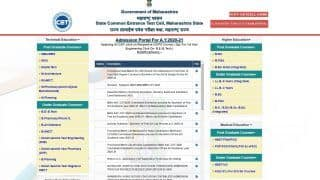 MH CET 3-year LLB Provisional Merit List released, Direct Link Here