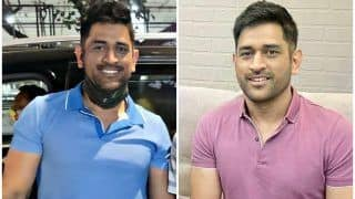 'Real Style Icon' - MS Dhoni's NEW 'Clean Shave' Look Impresses Fans