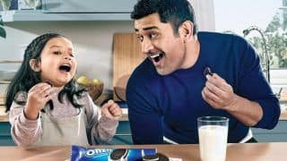 MS Dhoni's Daughter Ziva to Make Commercial Debut Soon, Poster of Ad Goes Viral