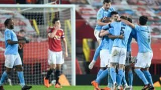 Football: Manchester City Beat Manchester United To Reach Carabao Cup Final