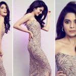 Tribhanga Actor Mithila Palkar in Rs 70K Off-Shoulder Embellished Gown Looks Elegant and Classy
