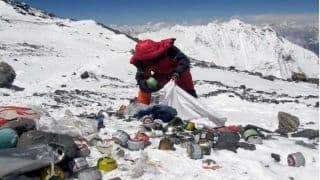 Nepal Plans to Create a Piece of Art Out of Trash Collected From Mount Everest
