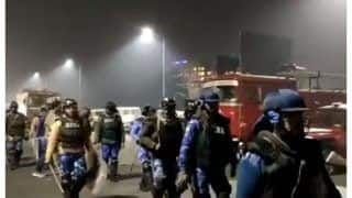 Massive Police Deployment At Ghazipur Border As Farmers Refuse To Vacate Protest Site | Roundup