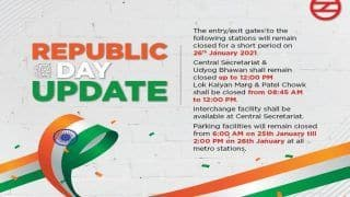Delhi Metro Services on Republic Day: Full List of Stations That Will Remain Closed, Partially Shut on January 26
