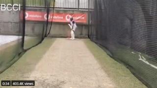 WATCH: ऑस्ट्रेलिया के खिलाफ सिडनी टेस्ट से पहले बल्लेबाजी अभ्यास करने उतरे रोहित शर्मा