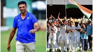 Rahul Dravid Trends After Rishabh Pant, Shubman Gill, Shardul Thakur, Washington Sundar Help India Beat Australia at Gabba