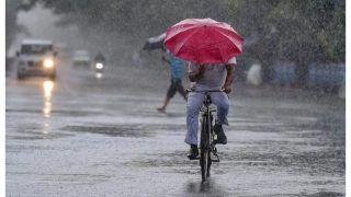 Delhi Receives Rain, Hail; Gusty Winds Bring Down Mercury