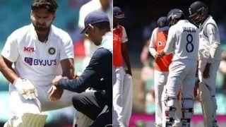 Rishabh Pant-Ravindra Jadeja Injury Update News: Will Wicketkeeper And Star Allrounder Bat in Second Innings During 3rd Test at SCG?